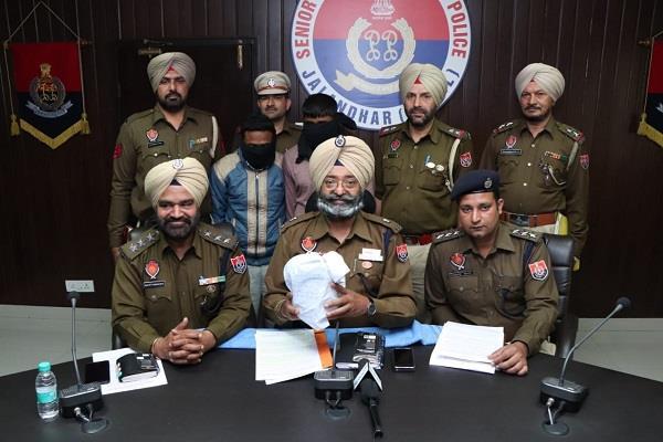 2 kg of opium 3 man arrested