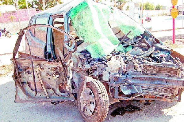 raod accident soldier died