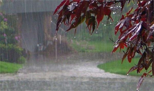 chance of rain and hail falls in western uttar pradesh tomorrow