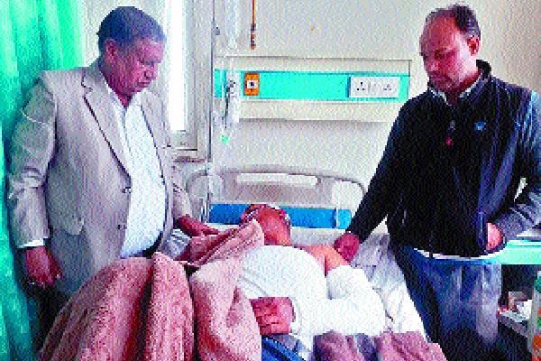 dispute with councillor in gharuanda