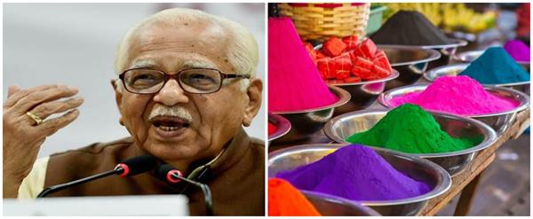 best wishes to the state residents on the holi festival