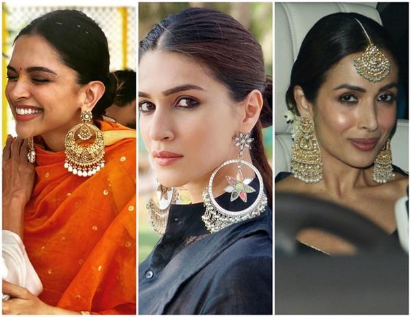 बी-टाऊन फैशनः वेस्टर्न-ट्रडीशनल, दोनों के साथ कैरी करें Oversized Earrings ( See Pics)