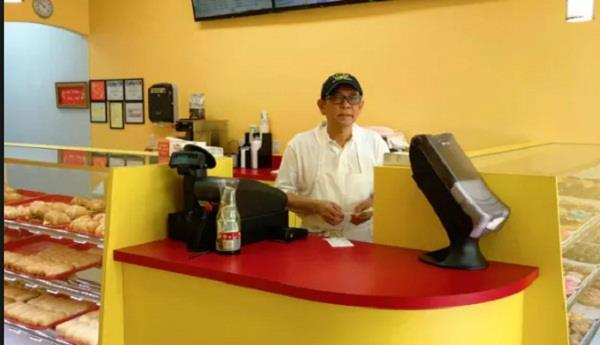 viral twitter photo of sad dad sends customers to new texas donut shop