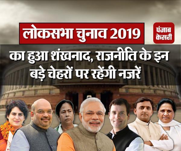 lok sabha elections 2019 of halitone eyes on these big faces of politics