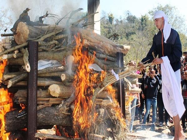 martyr nitin rana funeral