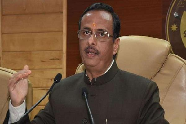 dinesh sharma spoke on loksabha election