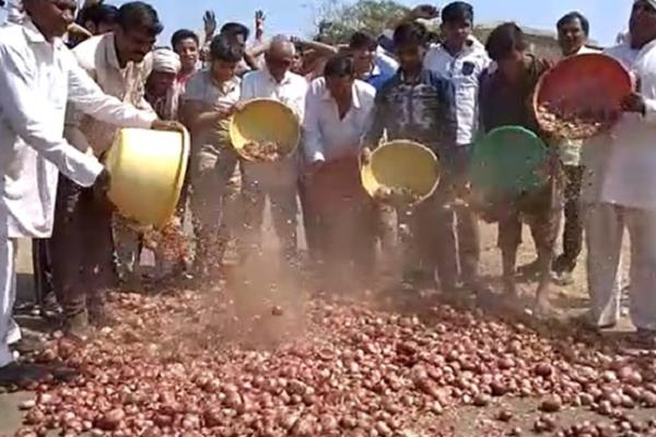 farmers  anger will not get the right price for onion