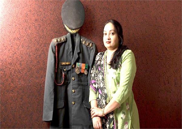शहीद की पत्नि ने अंधेरे से लड़कर दूसरों को दिए उजाले