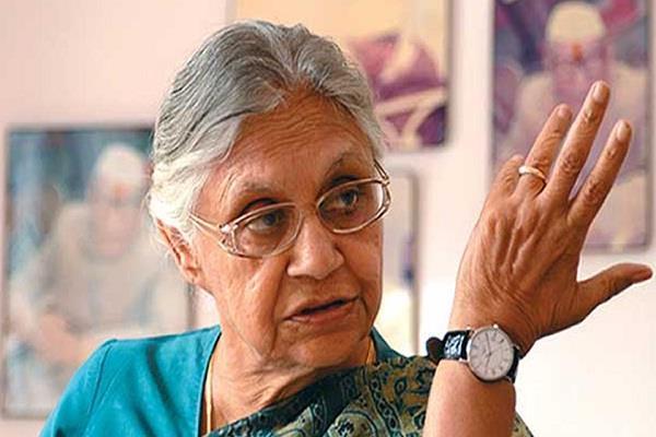 sheila dikshit s big statement singh did not take tough steps against terrorism