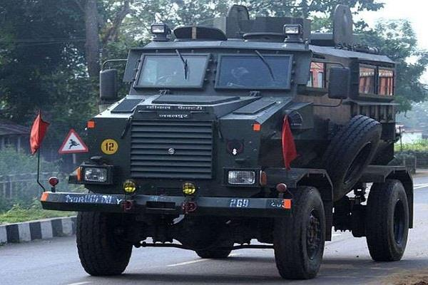 kashmir the bulletproof 30 seater buses will join the crpf convoy