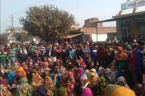 in saharanpur the youth was killed by the dead