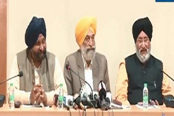 uncomfortable case shiromani akali dal will not support sit