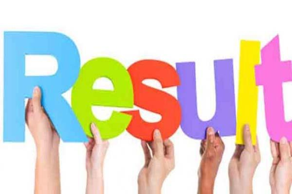j e  electrical sorting test result out know how many passed