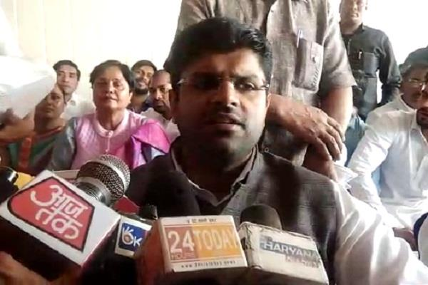 dushyant chautala commented on inld