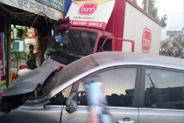 drunk truck driver dies in vandalized elderly woman child seriously injured