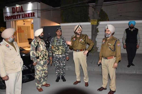 lok sabha elections commissionerate police posted crpf city