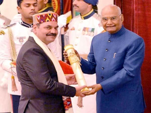 dr omesh bharti got padmashri award