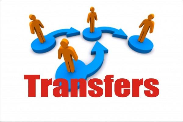 punjab government transferred 65 officers