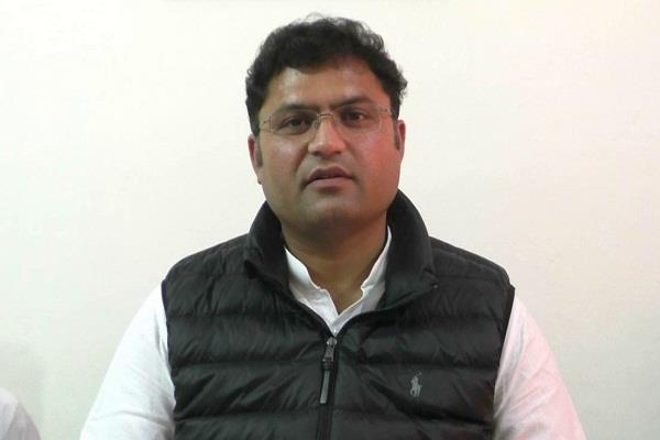 ashok tanwar commented on bjp