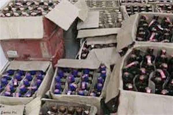 liquor consignment recovered from shop