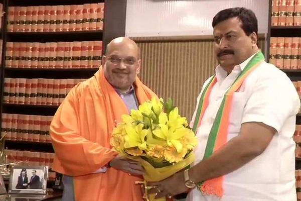 lok sabha elections reddy joins bjp after leaving congress in telangana