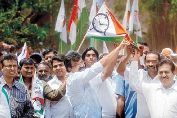 mumbai big blow to ncp son of former mp will be included in bjp