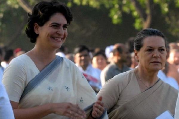 sonia gandhi priyanka will also be on tour to rae bareli