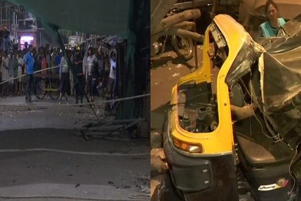 1 killed 3 injured in building collapse in dharavi