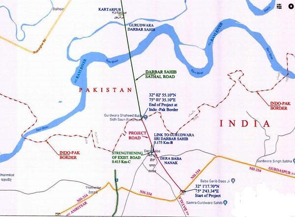 green signal for kartarpur corridor