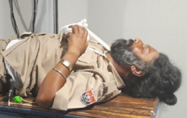 police head constable injure in accident