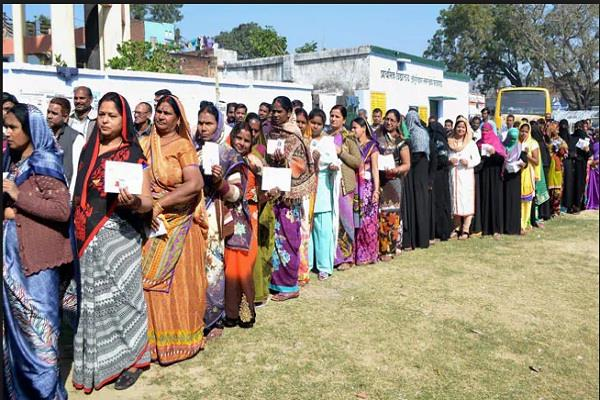 second phase voting ends in 95 seats in 12 states