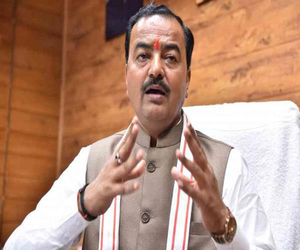 keshav maurya spoke on congress