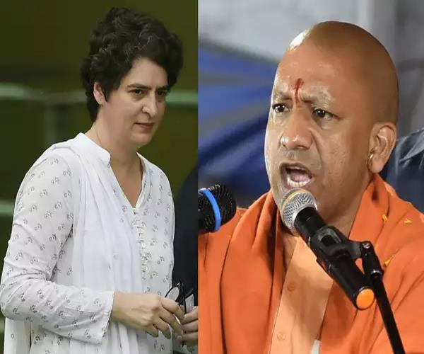 priyanka gandhi congress will get 44 to 4 yogi