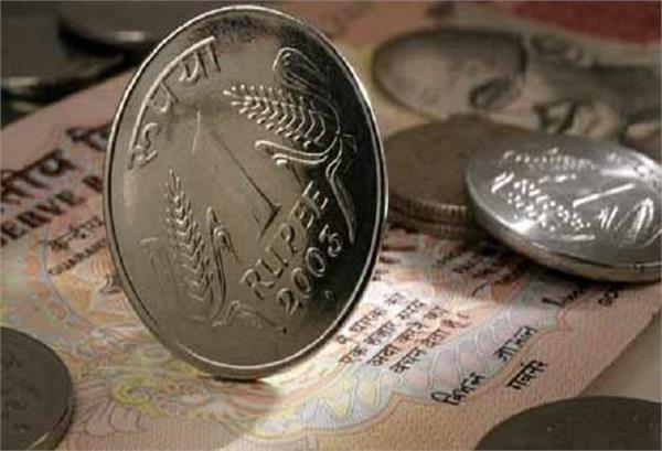 rupee up 9 paise to open at 6907