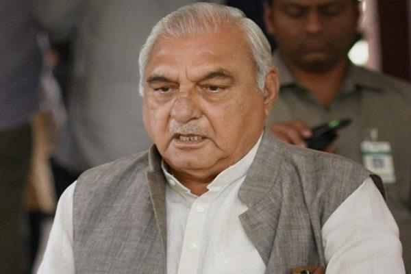 hooda refuses opposition leader wants to be the face of chief minister