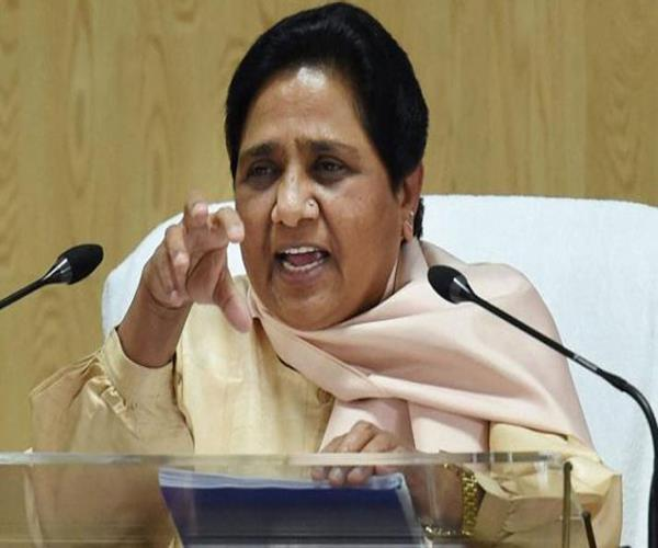 ban on me decide conspiracy and murder of democracy mayawati