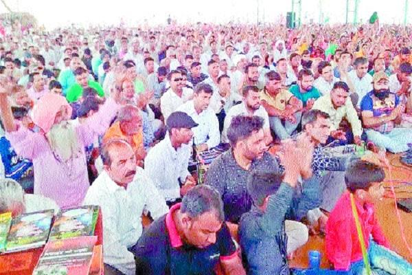 dera lovers perform power demonstration in jalandal and ahirwal