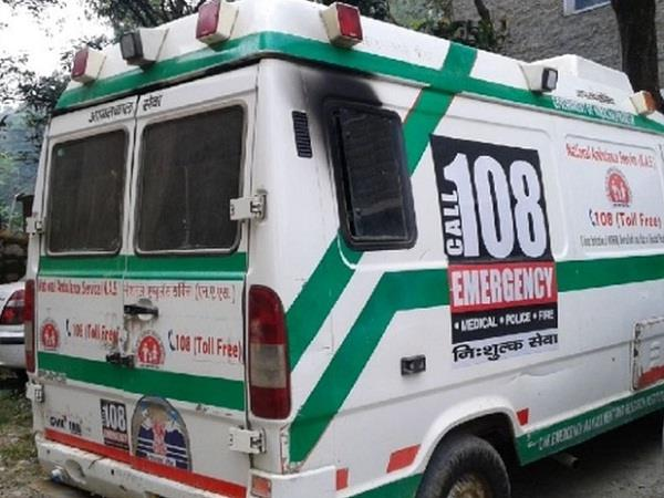 once again 108 wheelchairs of the ambulance