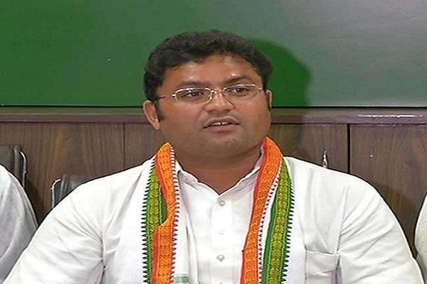 bjp creates  crime capital  in haryana tanwar