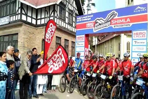8th hero mtb cycling rally