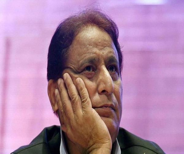 dispute over statement pain of azam khan
