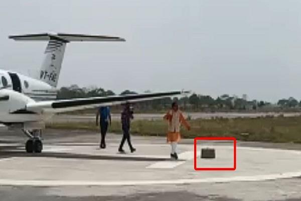 shivraj pilot survivor a big accident