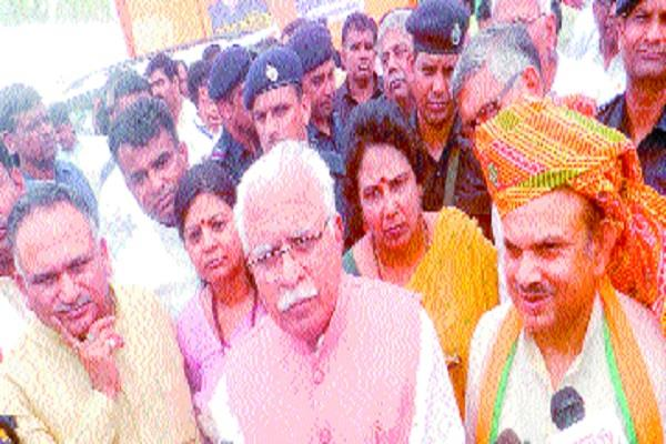 the first in the state was  bbc  government manohar lal khattar