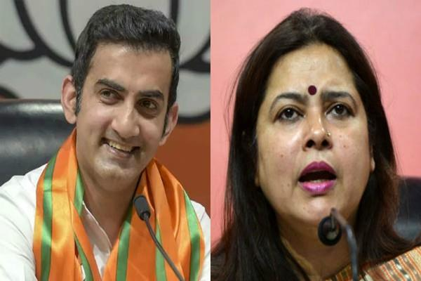 ticket to meenakshi lekhi from new delhi and gambhir from east delhi
