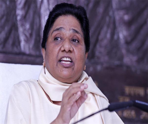 congress and bjp are deceitful mayawati