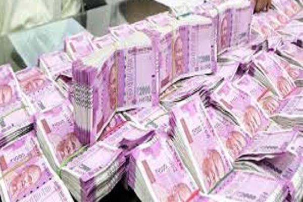 police used to have a large consignment of notes recovered in the raid