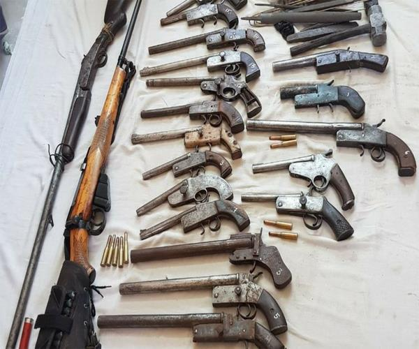 up 5 unauthorized factories busted large number of arms recovered