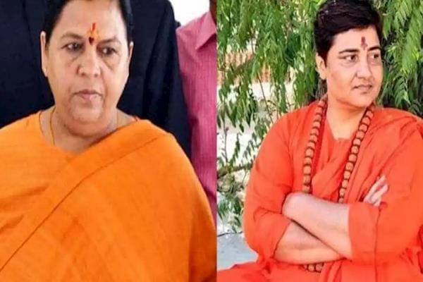 uma bharati i spoke to her on comparisons with sadhvi pragya