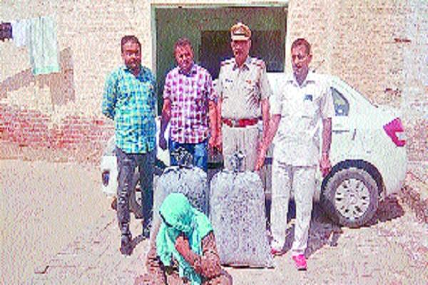 38 kg garbage doda pothole recovered from car