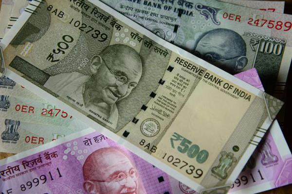 rupee up 16 paise against dollar in early trade
